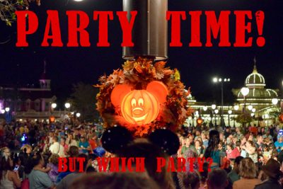 Which WDW Party?