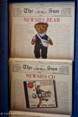 Newsies Bear