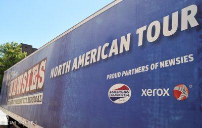 Newsies Tour Truck