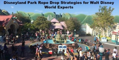 Disneyland Park Rope Drop