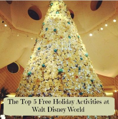 Top 5 Free Holiday Activities at Walt Disney World