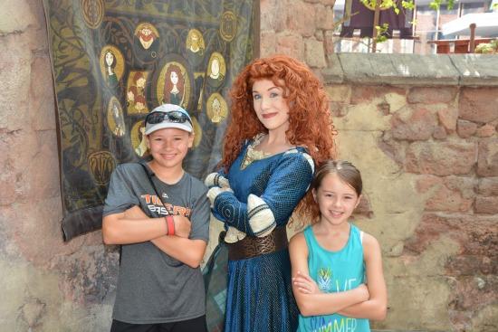 Merida at FairyTale Garden