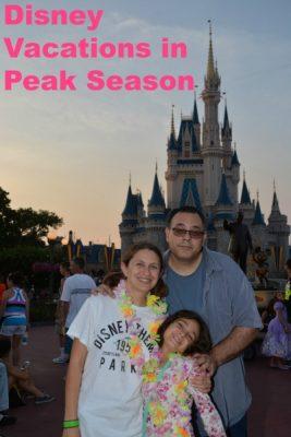 Peak Season at Disney