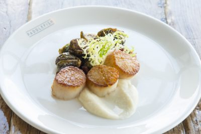 scallops-brussel-sprouts-and-cauliflower-puree