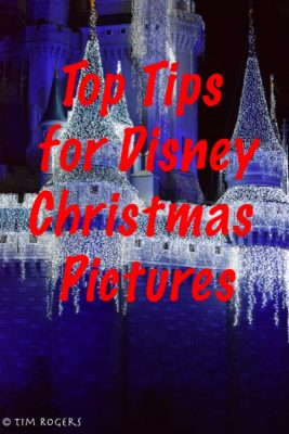 Tips for Disney Christmas Pictures
