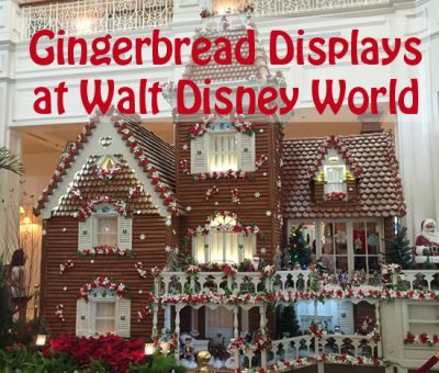 Walt Disney World Gingerbread Displays