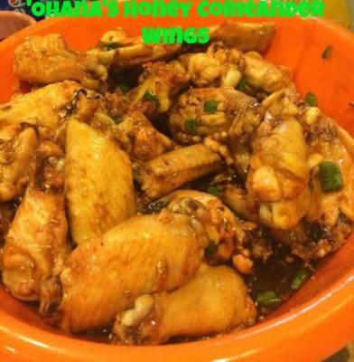 'Ohana's Honey Coriander Wing Recipe