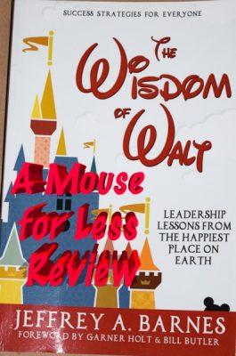 Wisdom of Walt Cover