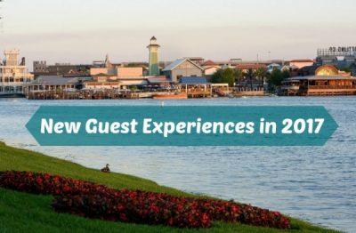 New Walt Disney World Guest Experiences in 2017