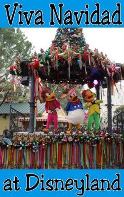 Viva Navidad at Disneyland