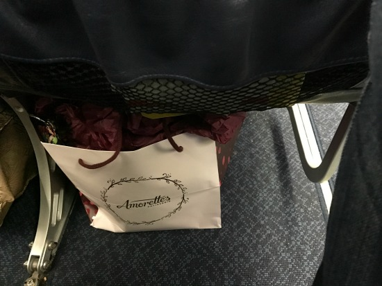 Cake on Plane
