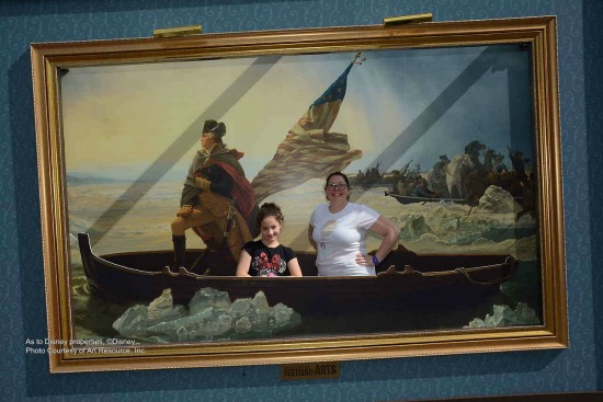 Crossing the Delaware art