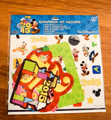Disney Scrapbooking Kit