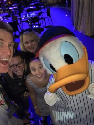 Donald selfie