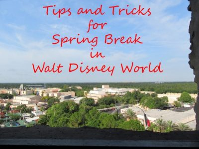 Tips and Tricks for Managing and Enjoying Spring Break in Walt Disney World
