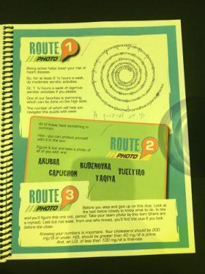 Routes 1, 2, 3