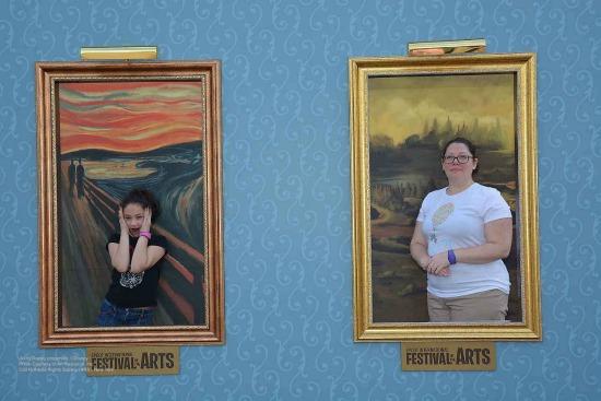 Scream and Mona Lisa