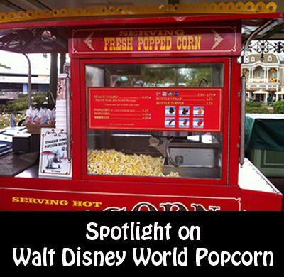 Spotlight on Walt Disney World Popcorn