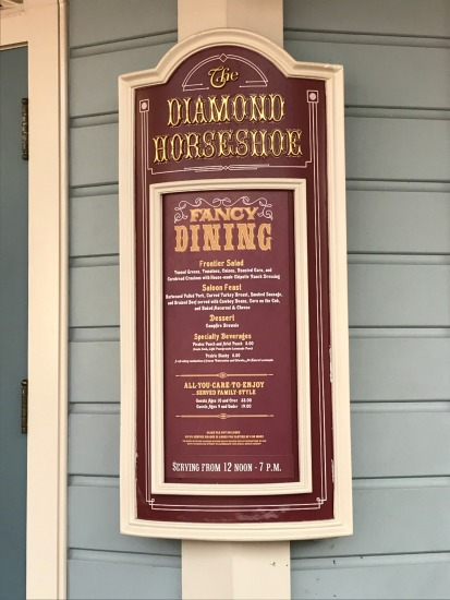 diamond horseshoe food