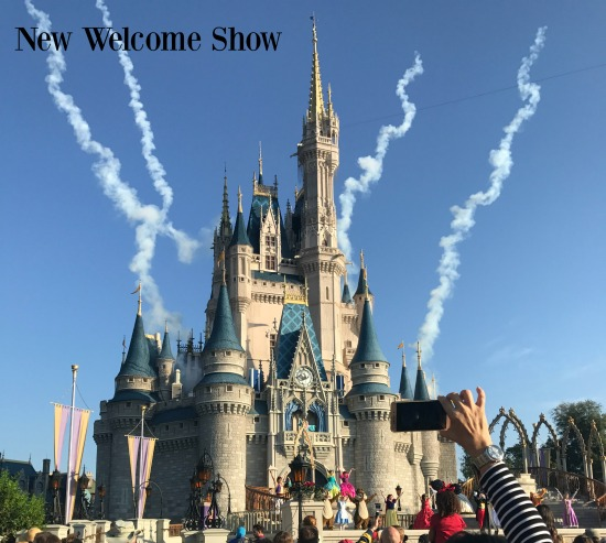 New Magic Kingdom welcome show at Walt Disney World