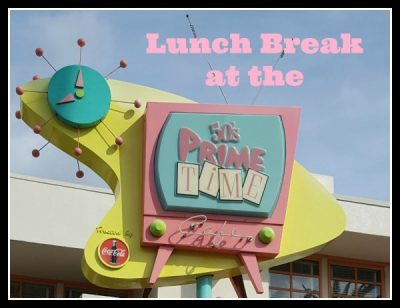 Lunch at 50's Prime Time Cafe