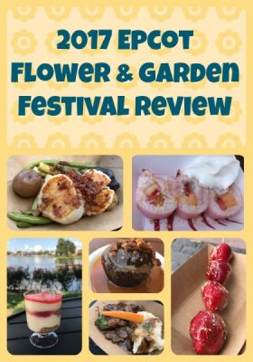 Epcot Flower and Garden Festival Outdoor Kitchen Food Booths Review