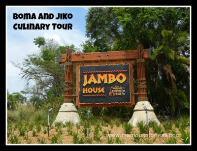 Boma and Jiko Culinary Tour
