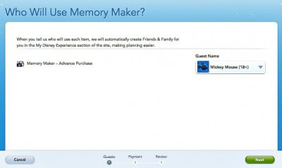 Memory Maker - Assign to Person