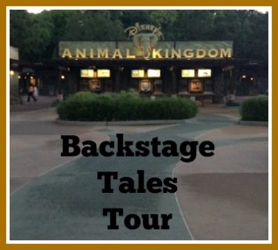 Backstage Tales Tour