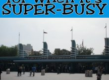 What to do when it's super-busy at California Adventure