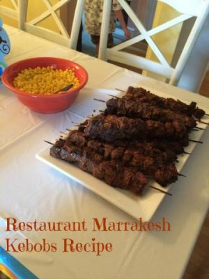 Restaurant Marrakesh Kebobs Recipe