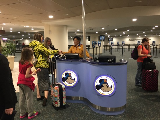 Magical Express Check-In Desk