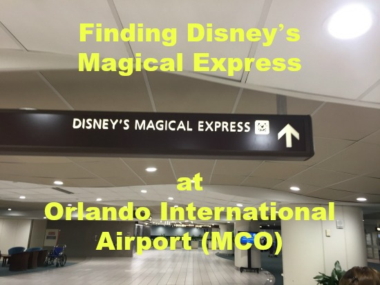 Finding Disney's Magical Express at Orlando International Airport (MCO)