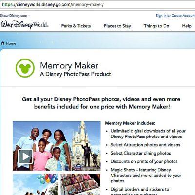 Memory Maker Website