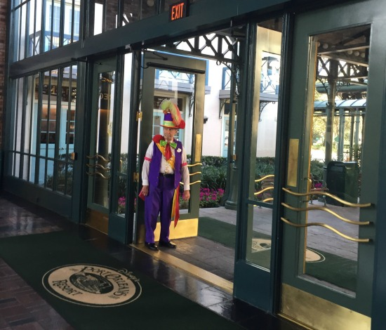 Port Orleans French Quarter Doorman