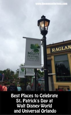 best places to celebrate st patrick s day at walt disney world and