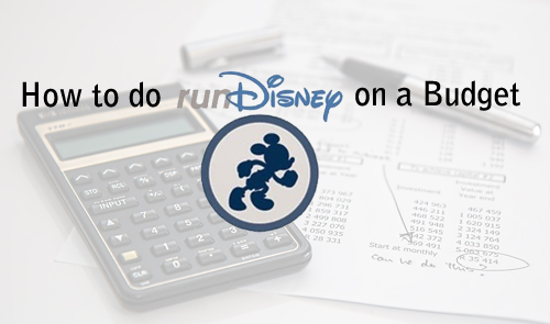 runDisney on a Budget