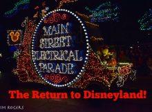 It's Back at Disneyland!