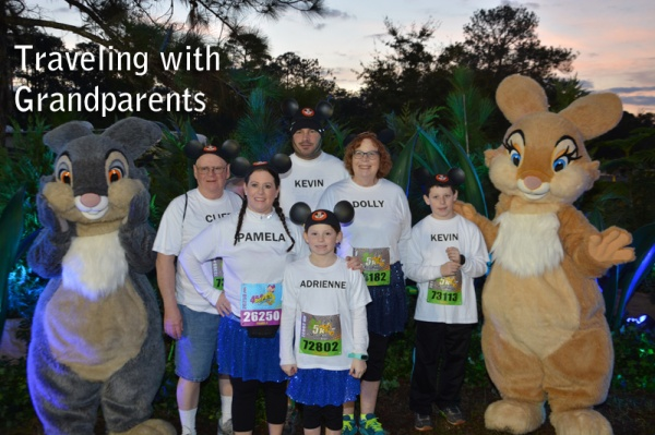 Tips for Traveling to Walt Disney World with Grandparents