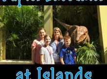 Raptor Encounter at Islands of Adventure