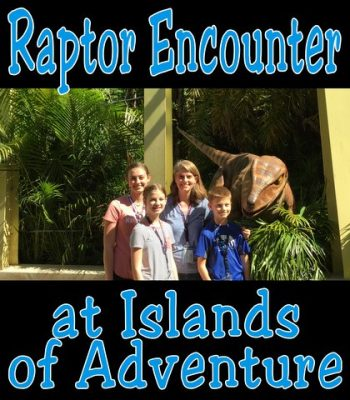 Raptor Encounter at Islands of Adventure