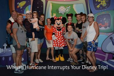 What happens when a hurricane occurs during your Disney vacation.