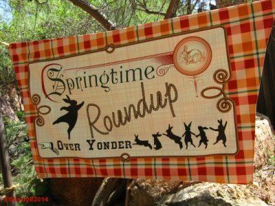 Springtime Roundup Banner