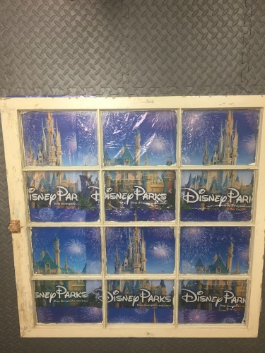 Disney Window Frame souvenirs