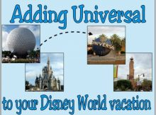 add Universal to a Disney World vacation