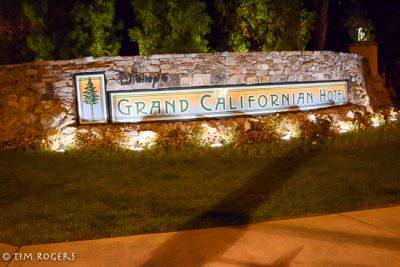 Grand Californian Sign
