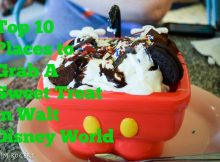 Top Ten Locations for a Sweet Treat at Walt Disney World