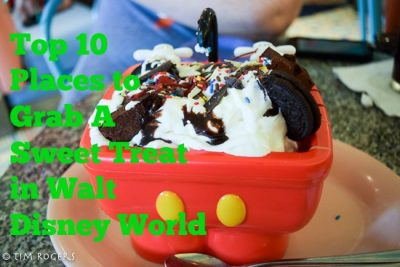 Top Ten Locations for Sweet Treats at Walt Disney World