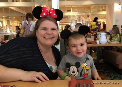Disney World First-Timer Character Breakfast at Cape May Cafe