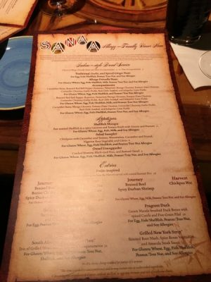 Disney World with food allergies, allergy friendly menu